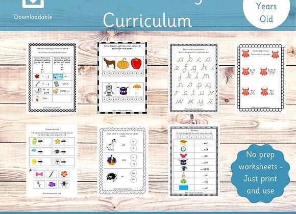 Year 1 Full English Curriculum - Printable worksheets - Key stage 1 English