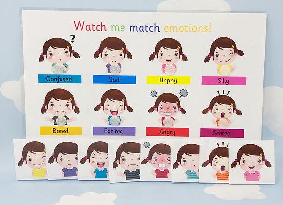 Emotions Learning Sheet - Feelings - Emotions - Autism - SEN - Emojis - ADHD
