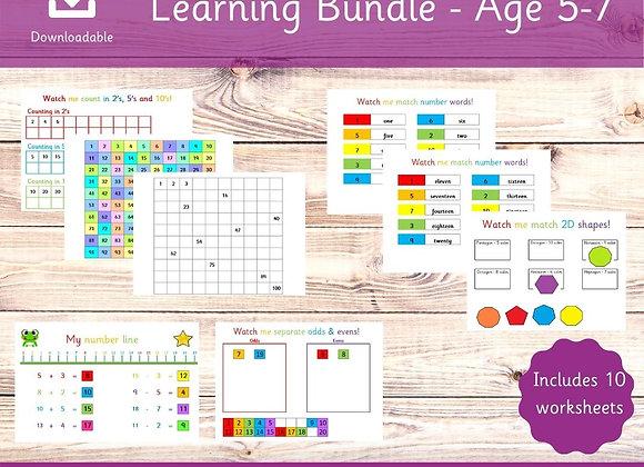 Key Stage 1 Learning Bundle - Busy Book - KS1 Bundle - Year 1 School