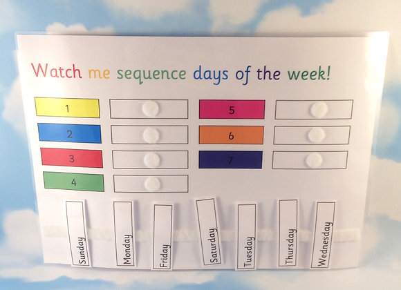 Sequence Days of the Week
