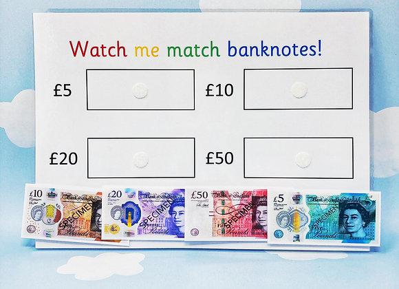 English Money - Learning Money - KS1 - Matching Game - Reception Learning