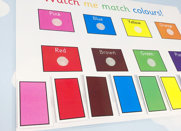 Printable Download - Learning Colours - Learning Sheet - Learning Resources