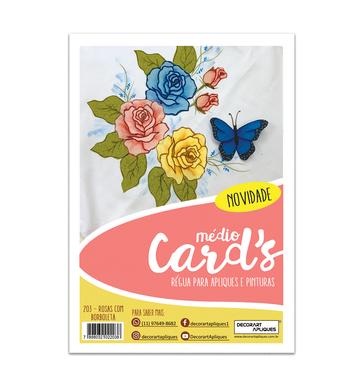 Rosas com Borboletas | Modelo 203