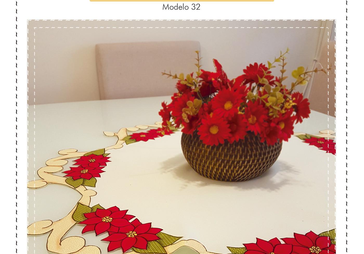 Patch Richelieu - Modelo 32 - Flor de Na