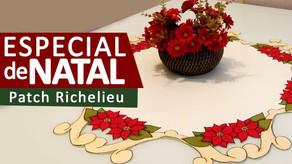 Patch Richelieu - Flor de Natal 2