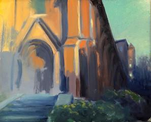 Brooklyn Heights Church Sketch