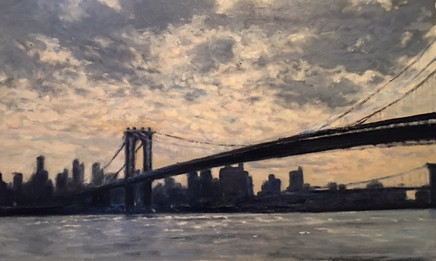 AN EAST RIVER MORNING