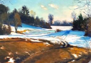 Vermontscape Last Snow