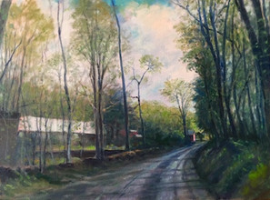 Country Lane in Garrison, NY