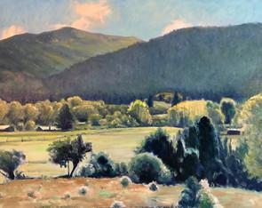 Landscape Near Truchas, NM