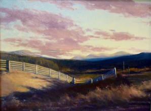 Highland Fencepost, Kinlochewe, Scotland