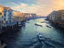 A VIEW IN VENICE 18x24