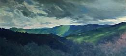 Landscape with Dark Clouds