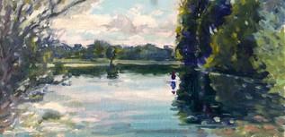 Little Pond Sketch