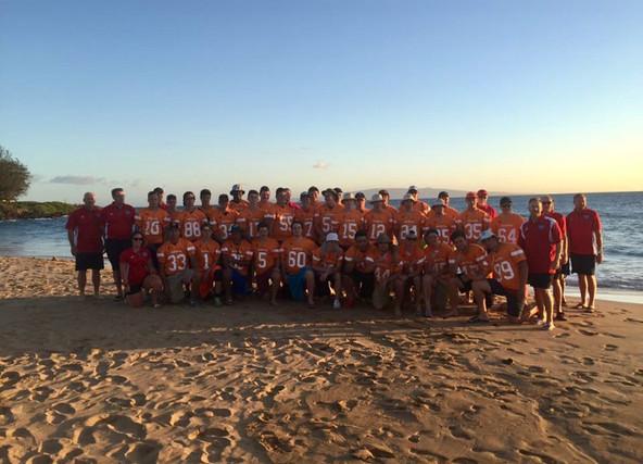 Team Alberta in Maui