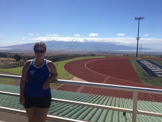 Football Alberta in Maui