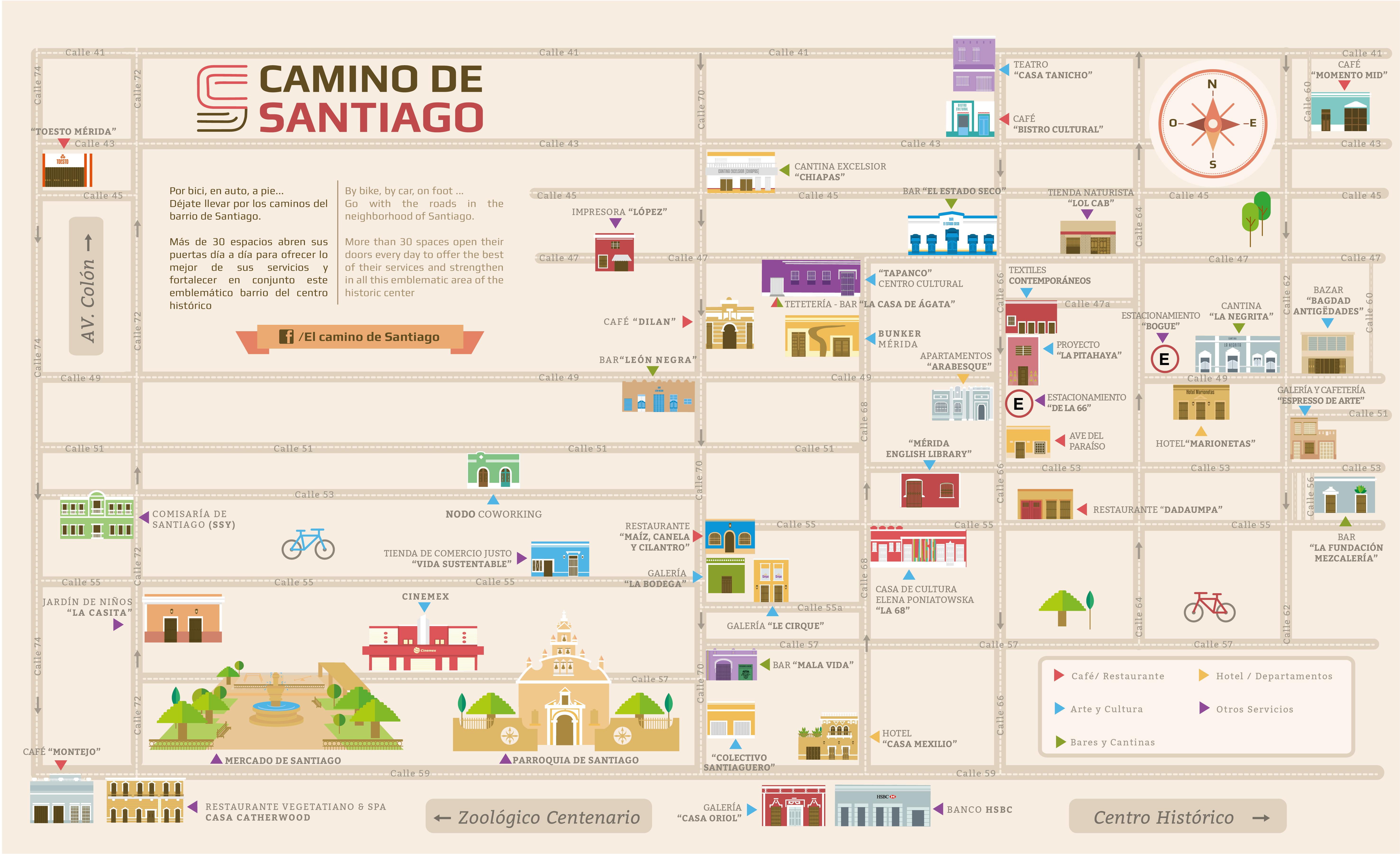 El camino de Santiago. Casa de Ágata