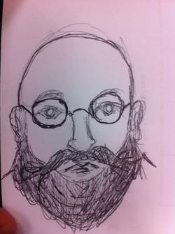 Retrato de Bryant Caballero