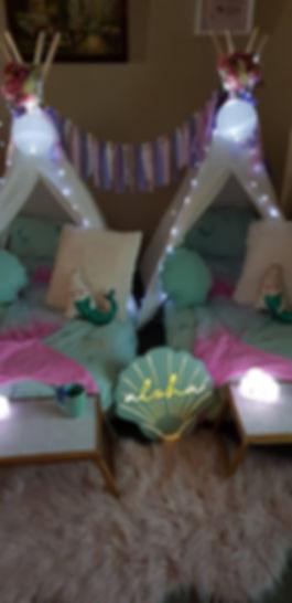 Mermaid Magic Sleepover Package
