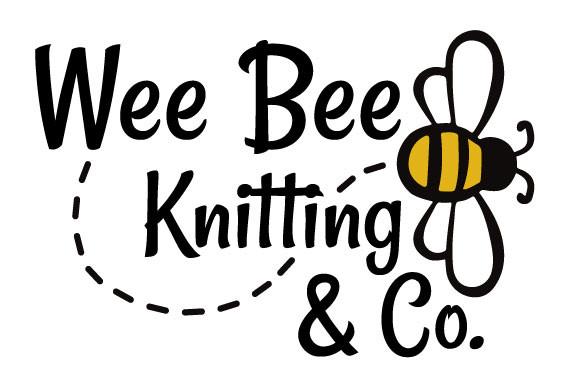 Wee Bee Knitting Logo | 2020