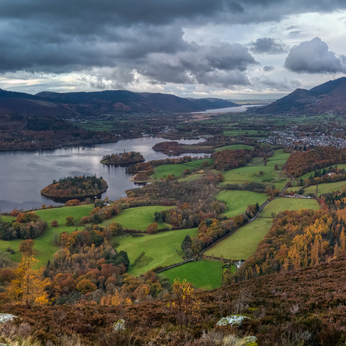 View from Walla Crag