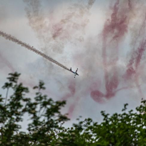 Aerobatics over Keswick