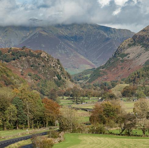 Thirlmere valley