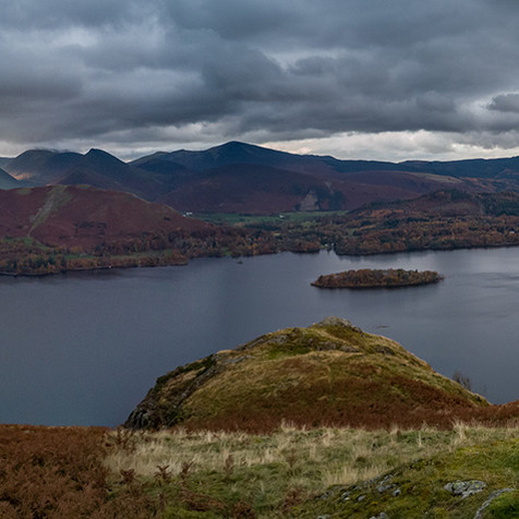 Panorama of Derwentwater