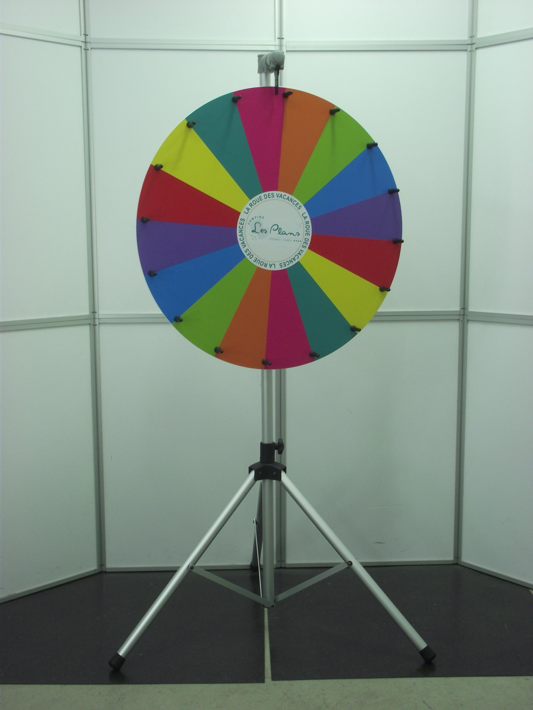 roue de la fortune, roue de la chance, roue de loterie DSCF2059