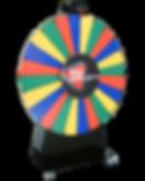 roue de la fortune, roue de la chance, roue de loterie, géant, géante, grand format, 150 cm à 250 cm