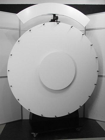 roue de la chance, roue de la fortune, roue de loterie, 4, géant, 150 cm