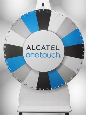 ROUE DE LOTERIE ALCATEL 180 cm roue de la fortune roue de la chance.jpg