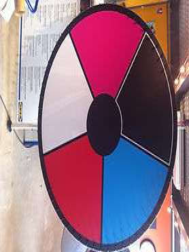 roue de la chance, roue de la fortune, roue de loterie, 3