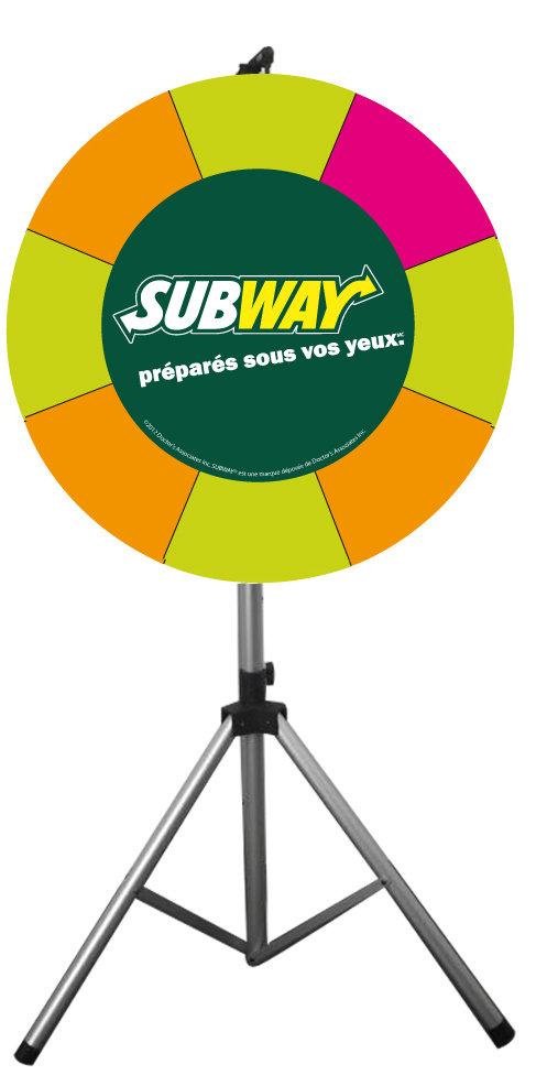 roue de la chance, 90 cm
