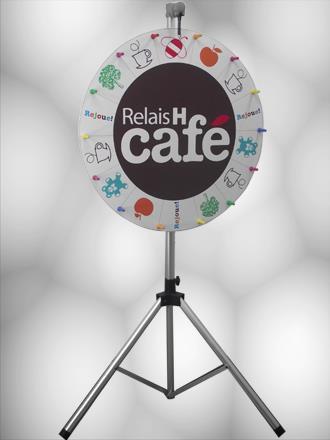 ROUE DE LOTERIE RELAIS H CAFE 90 cm roue de la fortune roue de la chance.jpg