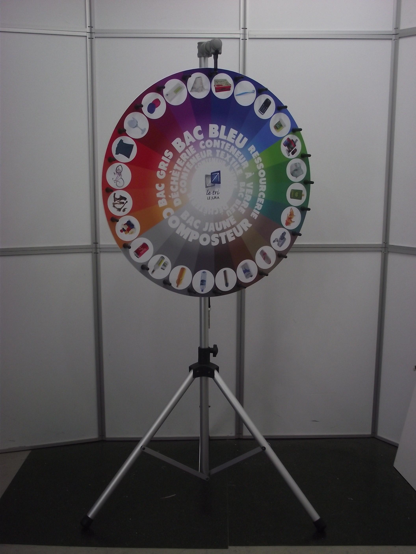 roue de la fortune, roue de la chance, roue de loterie DSCF2001