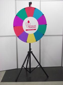 roue de la fortune, roue de la chance, roue de loterie Mutualite (2)