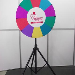 roue de la chance, roue de la fortune, roue de loterie,