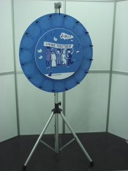 roue de la fortune, roue de la chance, roue de loterie DSCF2070