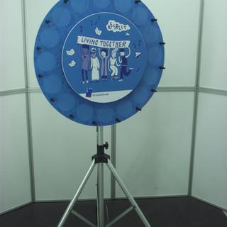 roue de la chance, roue de loterie, roue de la fortune