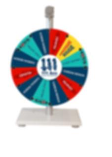 mini roue de la chance mini roue d ela fortune mini roue de loterie  modèle Bosch