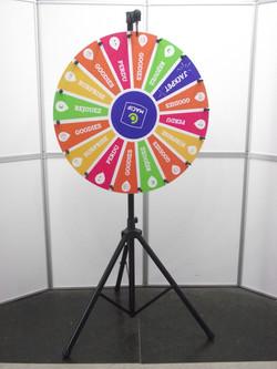 roue de la fortune, roue de la chance, roue de loterie DSCF0593