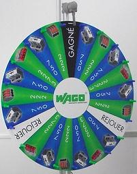 Roue de la fortune roue de la chance roue de loterie wago exemple