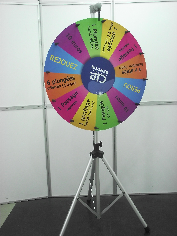 roue de la fortune, roue de la chance, roue de loterie DSCF1992