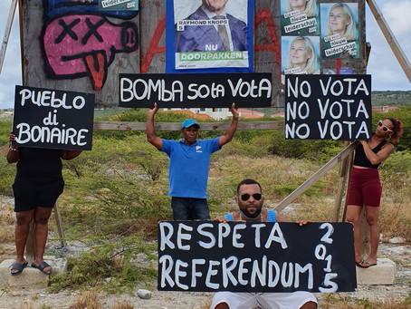 Dutch parliament elections on Bonaire is a mockery to democracy, a trap- don't vote