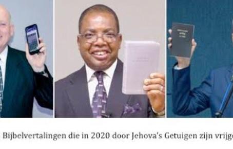 Na 2021, Testigonan di Jehova Lo Saca Bijbel den 36 Idioma Nobo