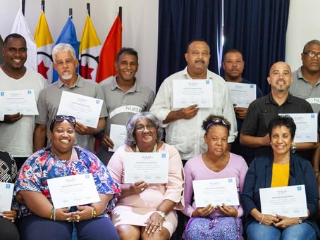 Eksitoso Tayer di Trabao– Boneiru riba lista di Nashonan Uni organisa pa NUKEB