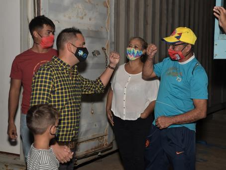 Minister Dangui Oduber: Lusnan LED a keda instala na veld di Sport Club United