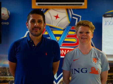 Futbol di Damas a dal un paso importante pa futuro