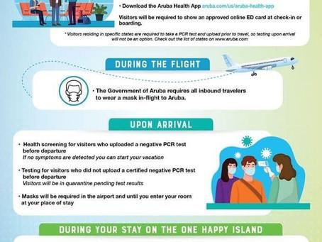 Travel safely to Aruba